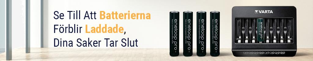 Batterier & laddare